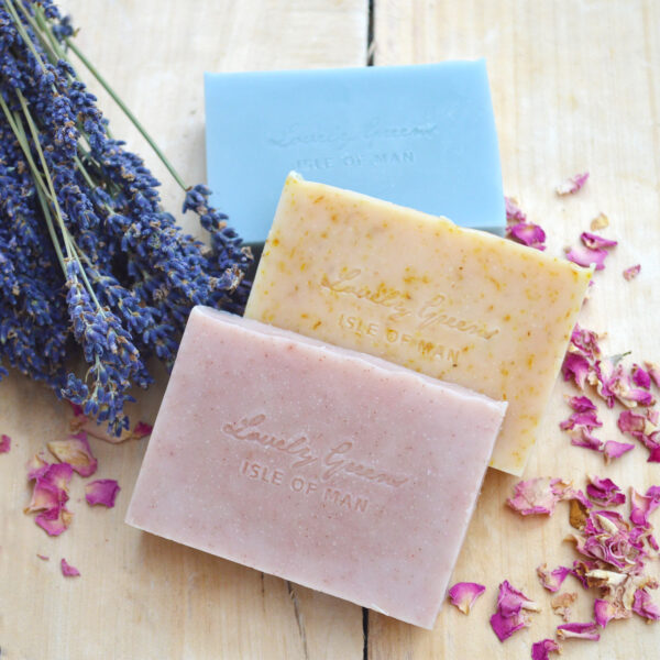 Sale on natural handmade soap