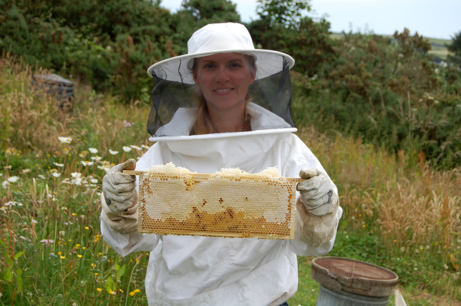 Handmade on the Isle of Man with local beeswax