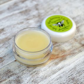 Peppermint Beeswax Lip Balm from Lovely Greens