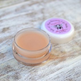 Strawberry Beeswax Lip Balm from Lovely Greens