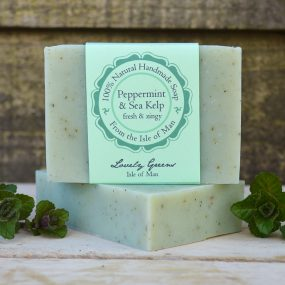 Peppermint and Sea Kelp Soap from Lovely Greens