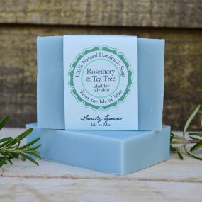Rosemary and Tea Tree Handmade Soap by Lovely Greens