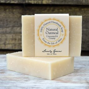 Natural Oatmeal Soap from Lovely Greens
