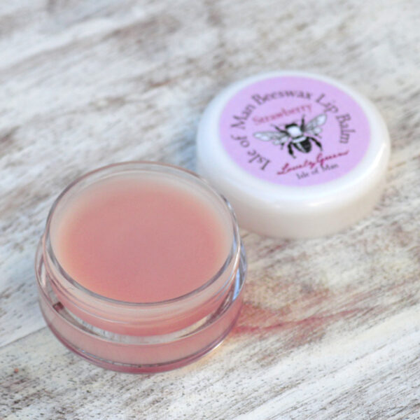 Strawberry Lip Balm | Lovely Greens Handmade