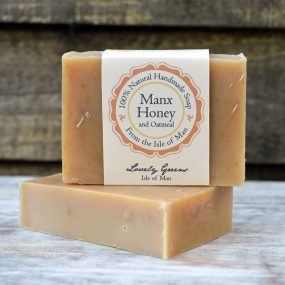 Manx Honey & Oatmeal Soap from Lovely Greens