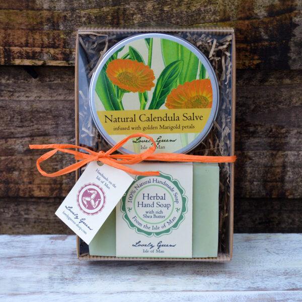 Kitchen & Garden Skincare Set from Lovely Greens