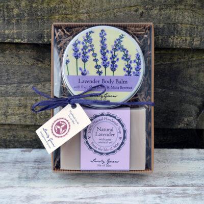 Natural Lavender Skincare Set from Lovely Greens