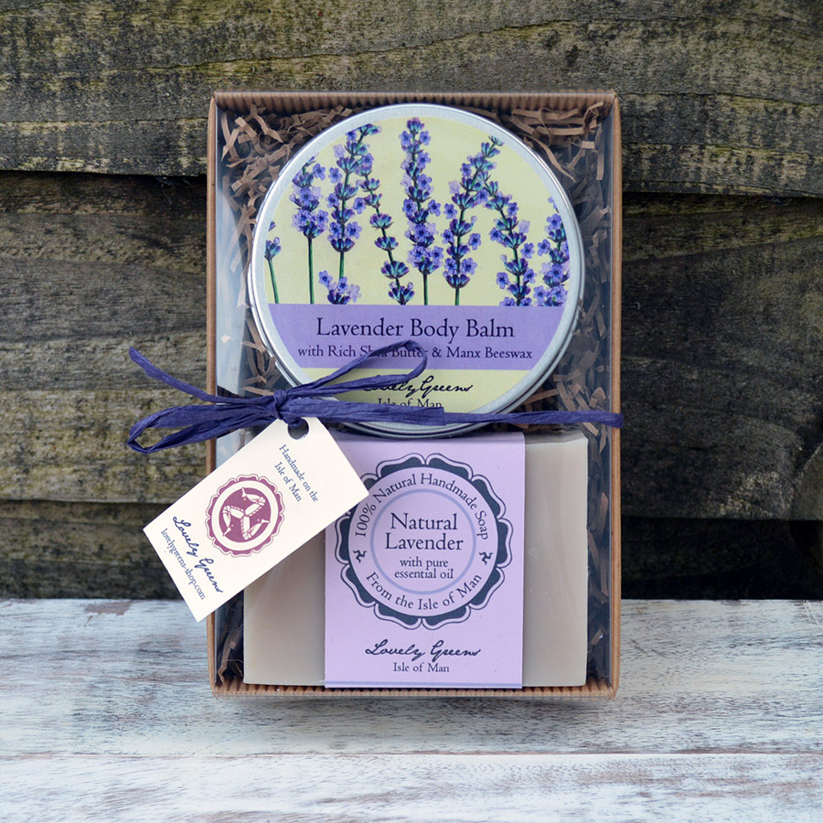 Natural Lavender Skincare Set from Lovely Greens