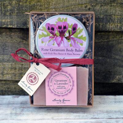 Rose Geranium Skincare Set
