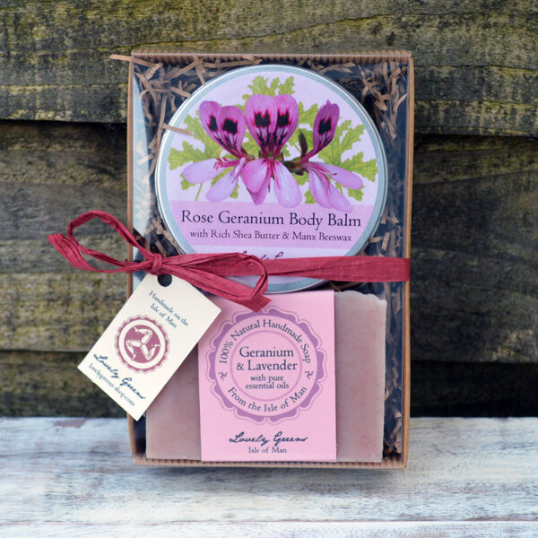 Rose Geranium Skincare Set