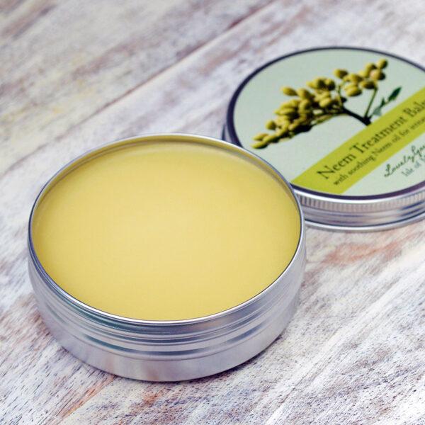Neem Treatment Balm for Irritated Skin -- Lovely Greens