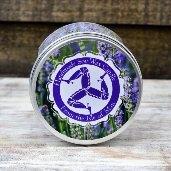 English Lavender Soy Wax Candle by Lovely Greens