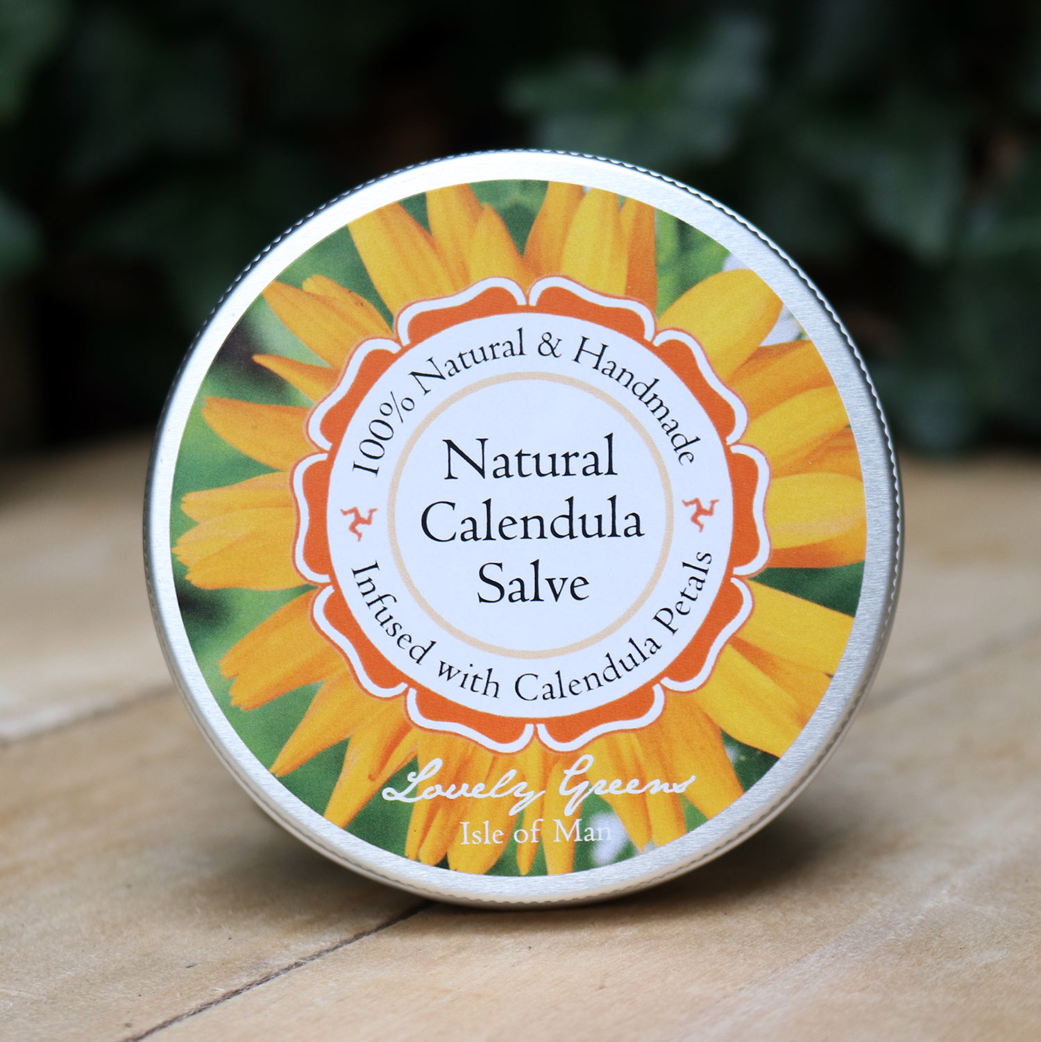 Natural Calendula Salve from Lovely Greens