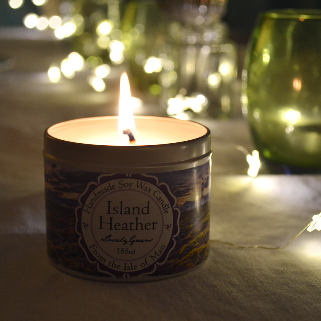 Island Heather Candle | Lovely Greens Handmade