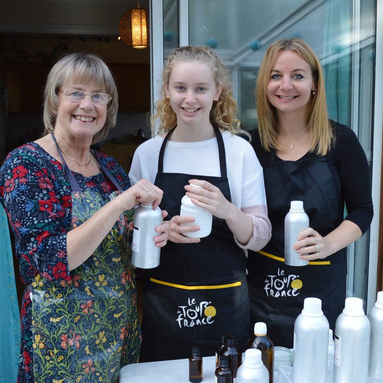 Soapmaking Class with Vicky, Kate & Macy