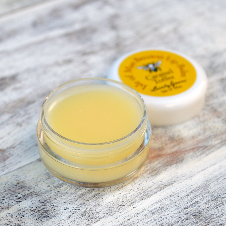 Caramel Toffee Lip Balm from Lovely Greens