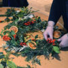 Willow Christmas Wreath Workshop Isle of Man