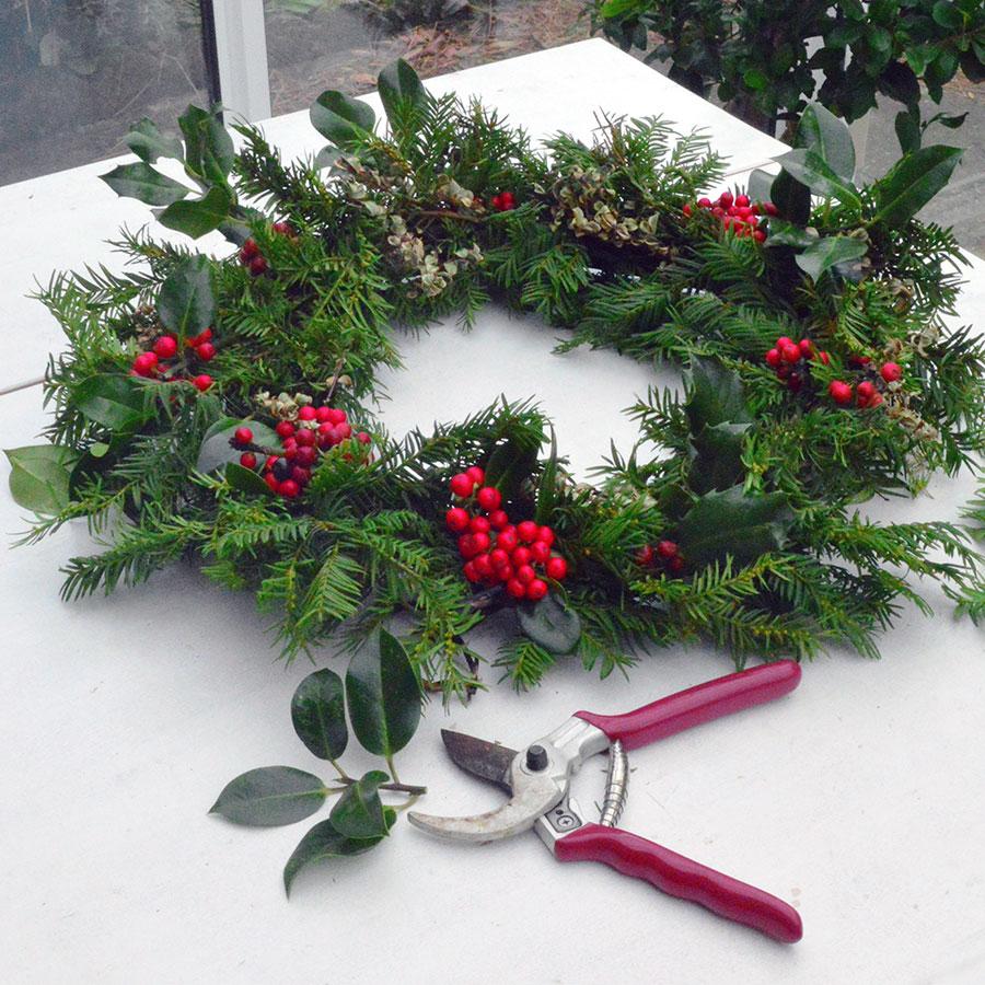Christmas Wreath Ideas.Natural Christmas Wreath Workshop