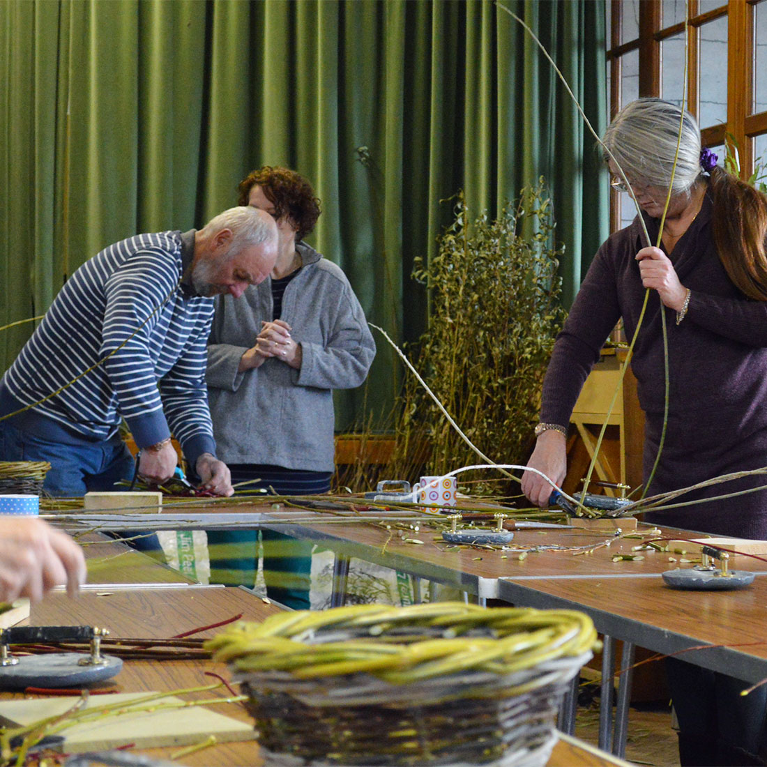 Willow Basket Weaving Workshop