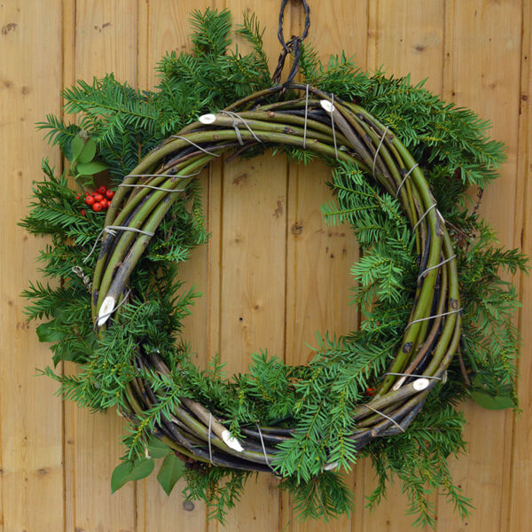 Natural Christmas Wreath Workshop
