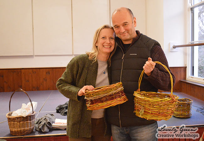 Willow Basket Weaving Workshops on the Isle of Man
