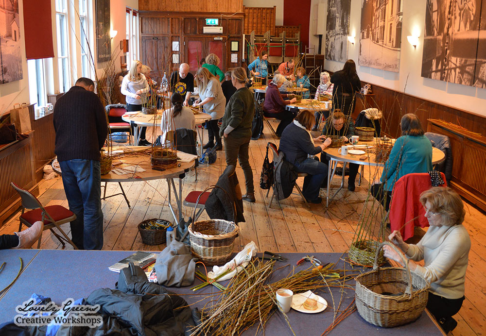 Willow Basket Weaving on the Isle of Man