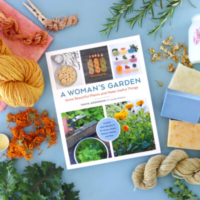 Signed copy of A Woman's Garden by Tanya Anderson